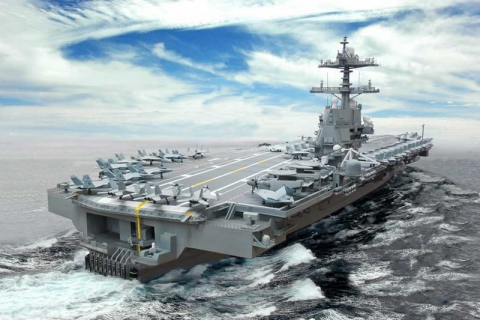 USS Gerald Ford_1